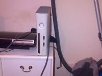 xbox 360 console and leads only