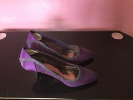 Purple occasion shoes by Roland Cartier, size 38 (5)