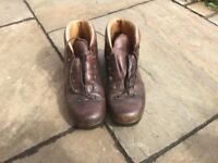 Leather Walking Boots size 40