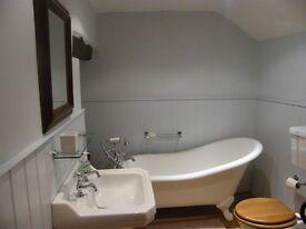 Roll Top Slipper Bath
