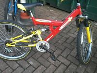 A very nice kids bike for sale