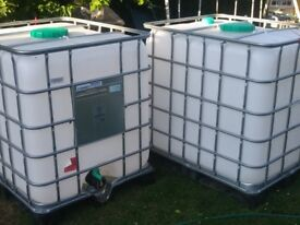1000ltr ibc's for sale