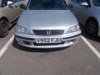 honda civic, smooth, new mot , excellent condition