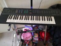Casio tone bank keyboard and stand