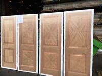 Job lot sale on pre finished oak Rhodes doors