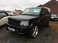 Land Rover discovery 4 PROJECT KHAN RS 300 3.0 diesel 10 Reg 7 seater automatic