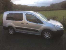 Peugeot partner van 2010 silver, 2 sliding side doors FSH