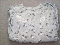 girls's long sleeve unicorn top