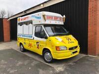 Ford Transit Soft Ice Cream Van Carpigiani Icecream Machine / Passenger Seat / 1998 R SWB