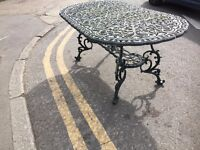 Nova Garden Table & Chairs, Used Condition