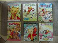 HERE I HAVE SIX RUPERT ANNUALS BARGAIN £5