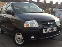 2006 (56) HYUNDAI AMICA CDX 1086cc PETROL 5 DOOR HATCH BACK (BLACK) LONG MOT * 100% HPi CLEAR