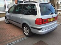 Vw sharan 1.9 tdi sport 2003 130bhp 7 seater for sale
