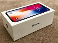IPHONE X 256gb SPACE GREY FACTORY UNLOCKED, BRAND NEW BOXED UNUSED, 1 YEAR APPLE WARRANTY rrp£1149