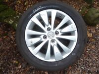 Alloy wheel from C4 Grand Picasso