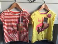 NEXT 2 T SHIRTS BNWT AGED 3 YEARS