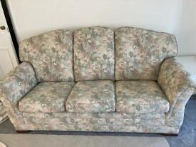 Sofa and Armchair (Parker Knoll)