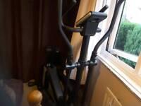 Roger Black cross trainer/exercise bike