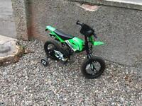 Children's Motocross Cycle Bike