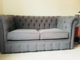 New double Chesterfield style sofa bed for sale