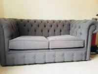 Double Chesterfield style sofa bed for sale