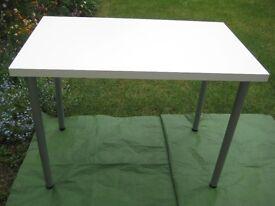 Aldi White Top Table