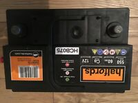 Mk1 Ford Focus Halfords Calcium Battery HCB075