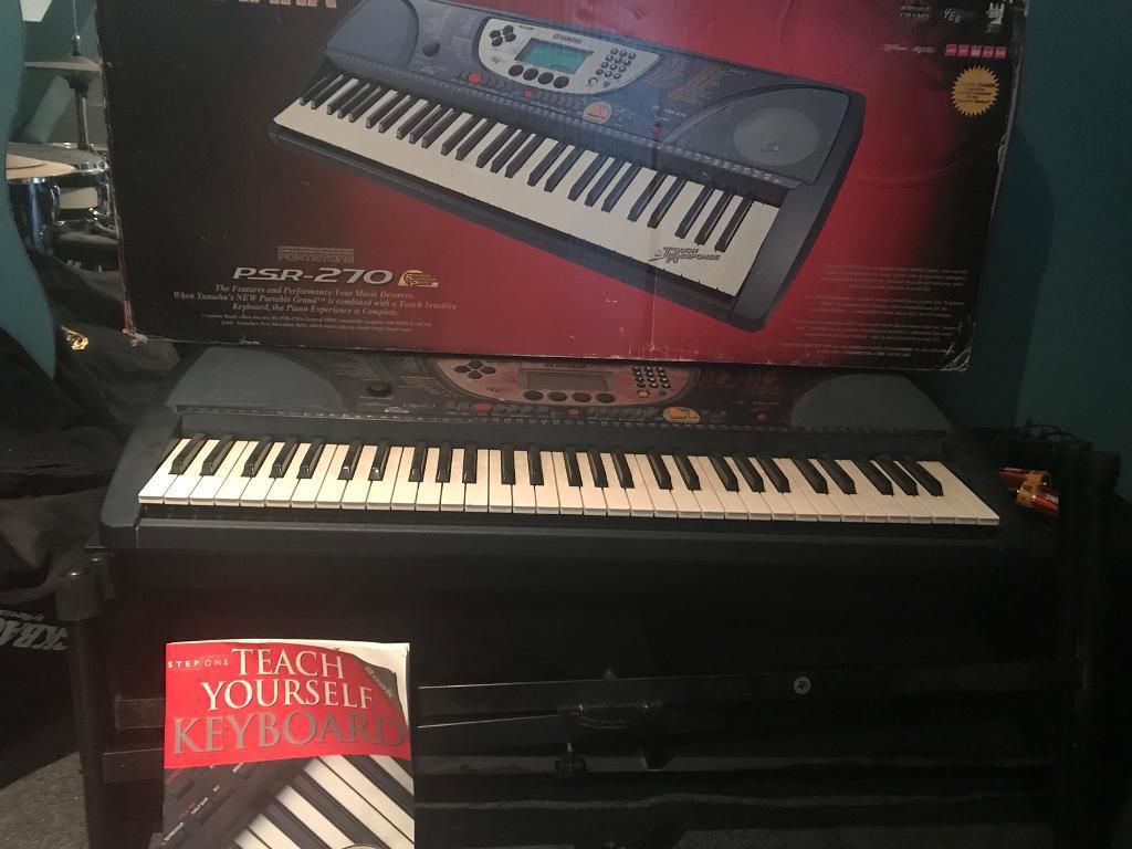 Yamaha Psr 270 keyboard