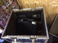 Amp rack on castors
