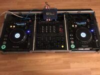 Twin Pioneer CDJ MK3 Set Up Plus Serato