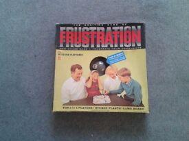Original 1965 Frustration Board Game.