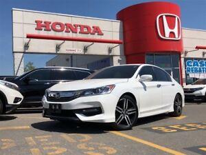 2016 Honda Accord Sedan Sport w/Honda Sensing, power roof
