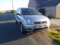 Ford Fusion 1.4L (2004), 5DR, low mileage, great condition, top trim (DVD player etc)