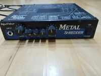 Hughes and Kettner Metal Shredder/Metal Master