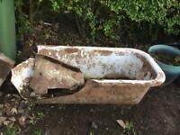 FREE SCRAP. Cast iron bath