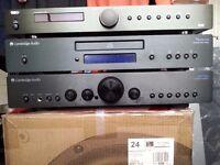Cambridge Audio Azur 351 amp and Topaz CD5 Player