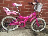 Giant Puddin - girl's bike - 16 inch wheels - pink
