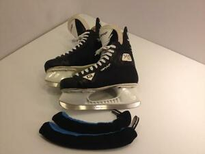 Graf 603 senior hockey skates, size 9 1/2 W, mint condition, sharp and ready to go
