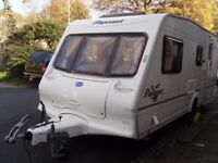 Bailey Pageant Chamagne Four Berth Touring Caravan