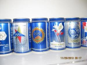 WINTER OLYMPICS 1988 COMPLETE BEER CAN + POSTER COLLECTION Kitchener / Waterloo Kitchener Area image 3