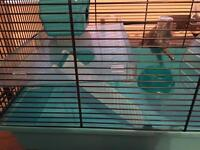 Hamster cage &accessories