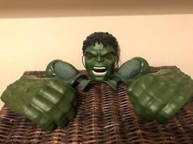 Hulk Mask, Muscles & Smash Hands