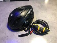 Bike Helmet and Lock