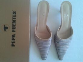 SHOES- SIZE 38 BY PEPA FUENTES IN GREAT CONDITION