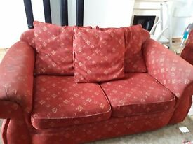 2 two seater settees free to a good home