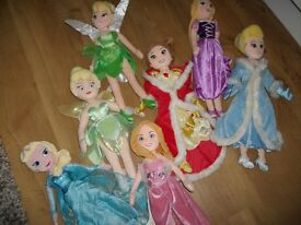 Disney princesses soft dolls 20in