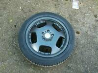 """5x114.3 17"""" alloys with decent tyres"""