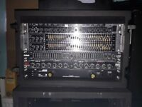 Behringer Pre Amp Set-up 2xEQ,Crossover, in 6u Rack £200 ono