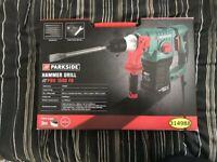 Parkside 12V SDS-Plus Corded Hammer Drill PBH 1500w f6
