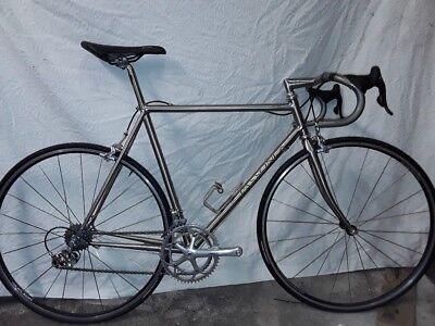 Passoni Top Titanio titanium Campagnolo Record road bike seatpost frame bar  10s 24c3090fa